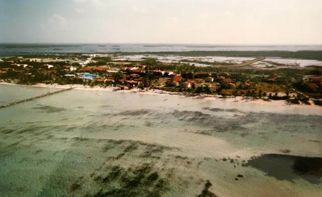 Areal View of Cayo Coyo