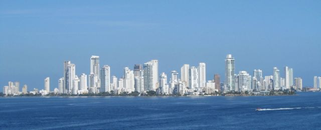 Panama City across from the causeway