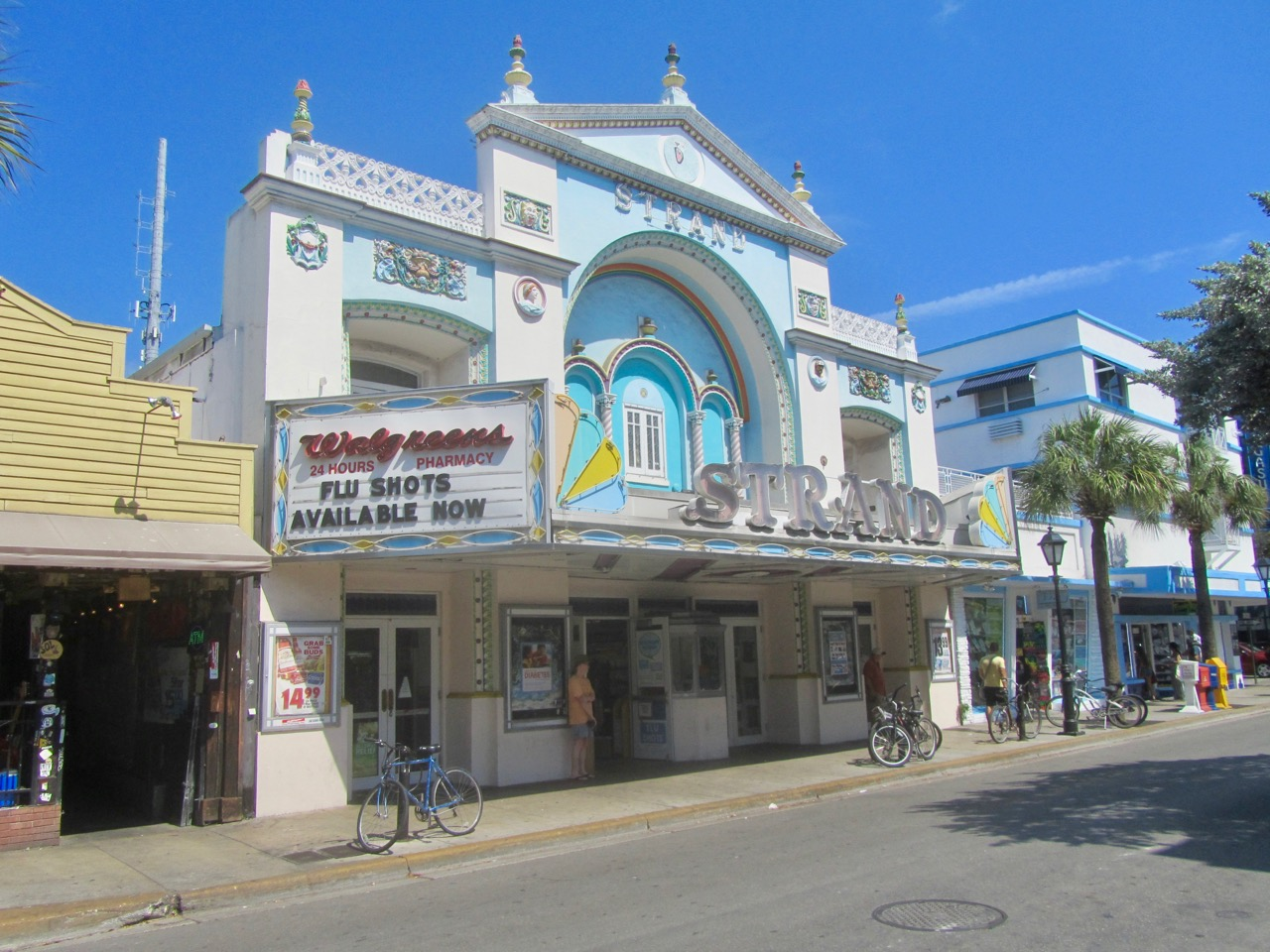 Old key west buildings