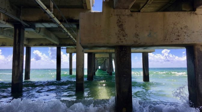 Treasure Hunting off the Dania Pier and Cleanup