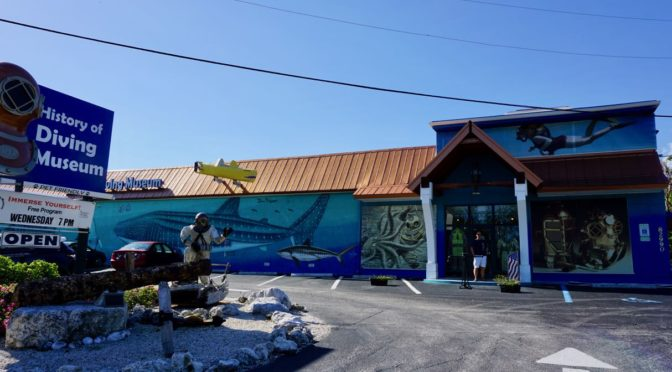 Visiting the History of Diving Museum