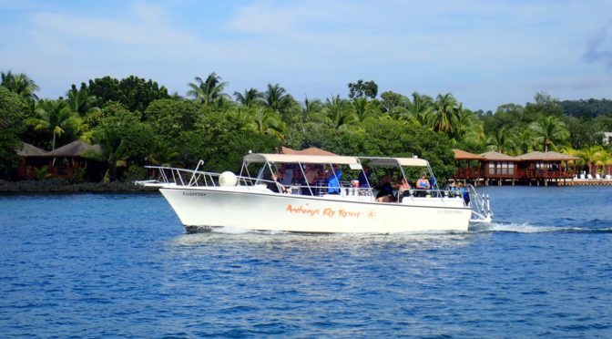 Scuba Diving Vacation at Antony's Key Resort, Roatan
