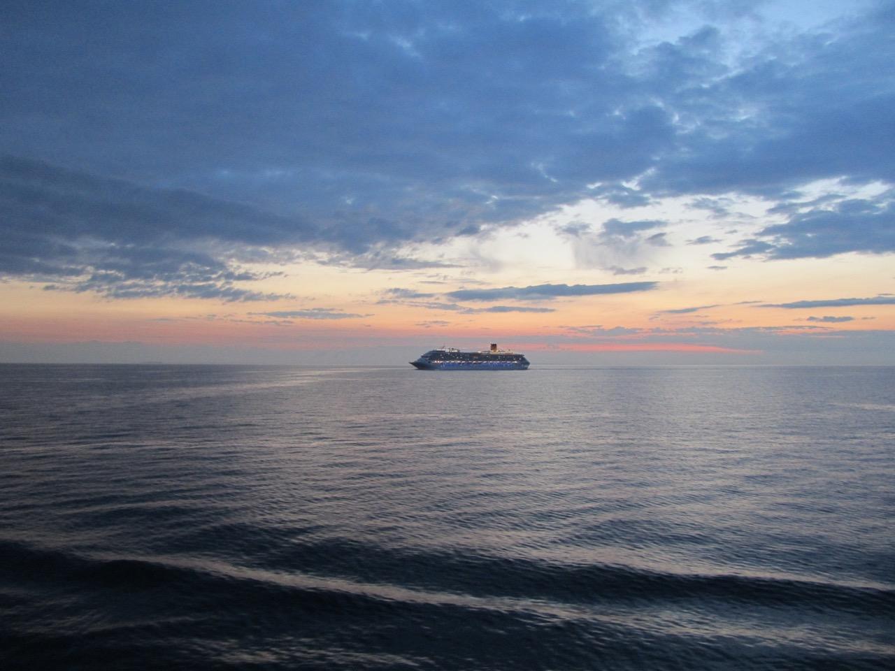 Midnight Sun & ship