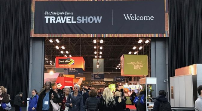 Attending The New York Times Travel Show